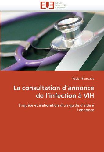 La Consultation D'Annonce de L'Infection a Vih