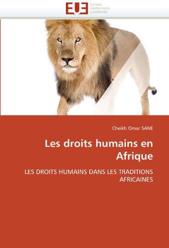 Les Droits Humains En Afrique 9786131555381