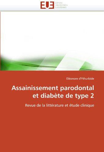 Assainissement Parodontal Et Diabete de Type 2 9786131556852