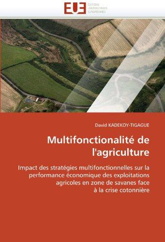 Multifonctionalit de L'Agriculture 9786131562730