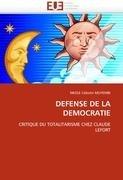 Defense de La Democratie 9786131574672