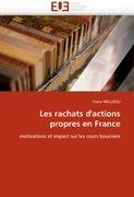 Les Rachats D'Actions Propres En France 9786131574900