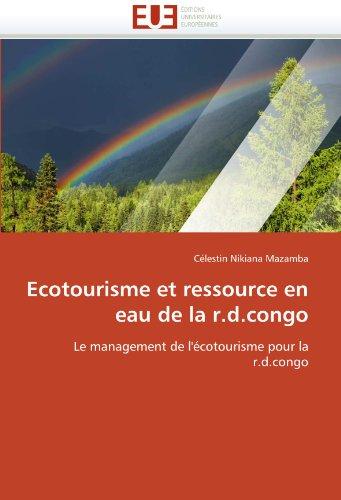 Ecotourisme Et Ressource En Eau de La R.D.Congo 9786131584312