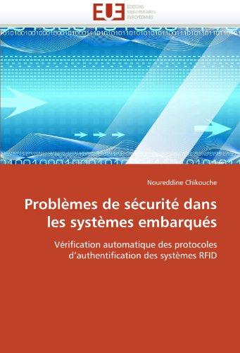 Probl Mes de S Curit Dans Les Syst Mes Embarqu S 9786131589645