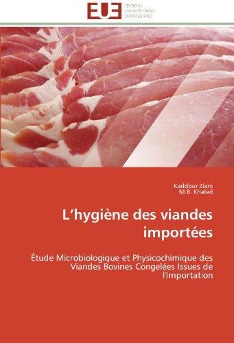 L'Hygi Ne Des Viandes Import Es 9786131597152
