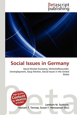 Social Issues in Germany by Lambert M. Surhone, Miriam T ...