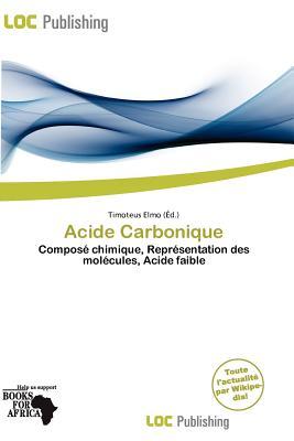 Acide Carbonique 9786139530335