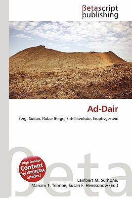 Ad-Dair 9786131113161