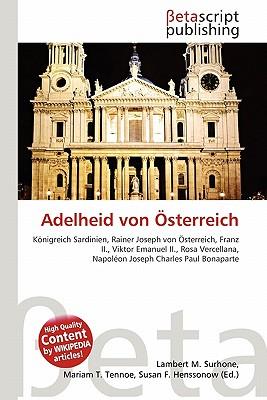 Adelheid Von Osterreich