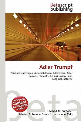 Adler Trumpf 9786131320699
