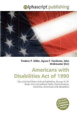 Americans with Disabilities Act of 1990 9786130292058