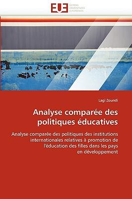 Analyse Compare Des Politiques Ducatives 9786131520075