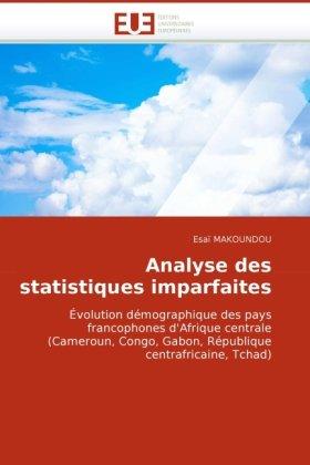 Analyse Des Statistiques Imparfaites 9786131509025