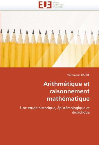 Arithmetique Et Raisonnement Mathematique 9786131523465