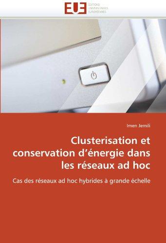 Clusterisation Et Conservation D'Energie Dans Les Reseaux Ad Hoc 9786131545337