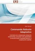 Commande Robuste Adaptative 9786131574306
