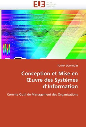 Conception Et Mise En Uvre Des Syst Mes D'Information 9786131514029