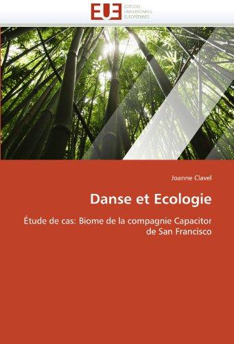 Danse Et Ecologie 9786131565212