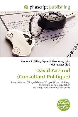 David Axelrod (Consultant Politique)