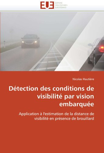 Detection Des Conditions de Visibilite Par Vision Embarquee 9786131548444