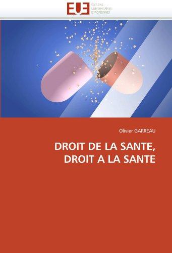 Droit de La Sante, Droit a la Sante 9786131525599