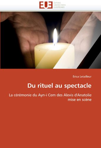 Du Rituel Au Spectacle 9786131523854
