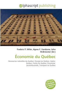 Economie Du Quebec
