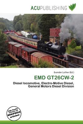 Emd gt26cw 2 for Electro motive division of general motors