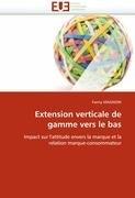 Extension Verticale de Gamme Vers Le Bas 9786131523076