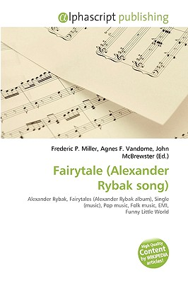 Fairytale Alexander Rybak Song By Frederic P Miller
