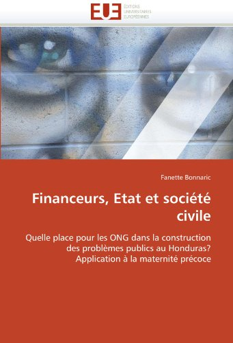 Financeurs, Etat Et Societe Civile 9786131532962