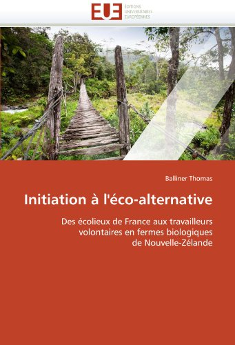 Initiation A L'Eco-Alternative 9786131544293