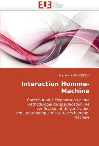 Interaction Homme-Machine 9786131508851