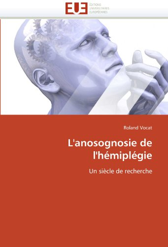 L'Anosognosie de L'Hemiplegie 9786131523113