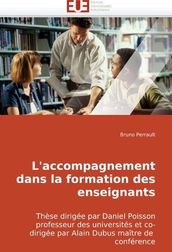 L'Accompagnement Dans La Formation Des Enseignants 9786131501005
