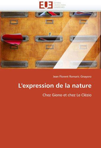 L'Expression de La Nature 9786131578847