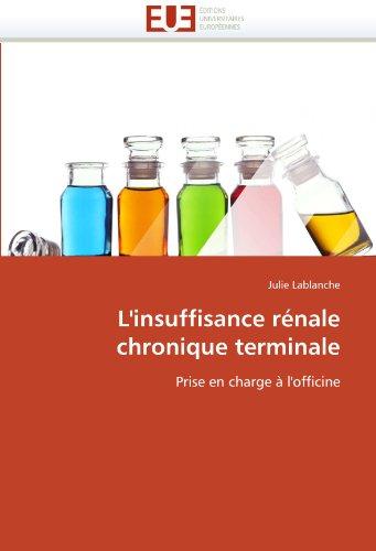 L'Insuffisance R Nale Chronique Terminale 9786131569470