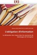 L'Obligation D'Information 9786131578687