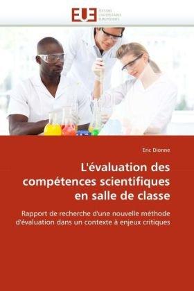 L'Valuation Des Comptences Scientifiques En Salle de Classe 9786131521645