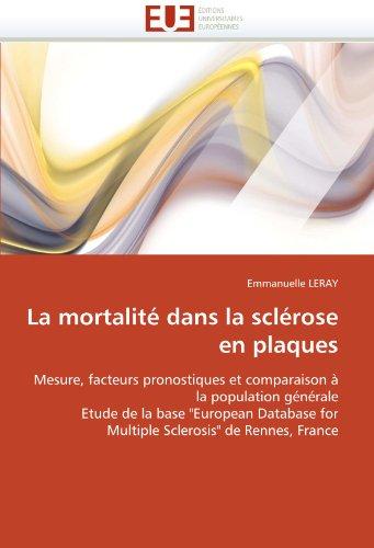 La Mortalite Dans La Sclerose En Plaques 9786131530876
