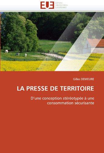 La Presse de Territoire 9786131519918