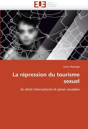 La Repression Du Tourisme Sexuel 9786131542329