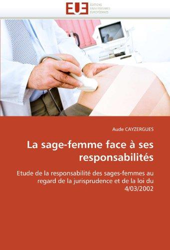 La Sage-Femme Face a Ses Responsabilites 9786131544866