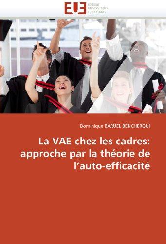 La Vae Chez Les Cadres 9786131527760
