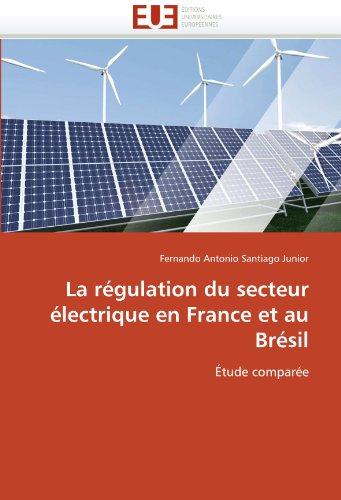 La R Gulation Du Secteur Lectrique En France Et Au Br Sil 9786131573019