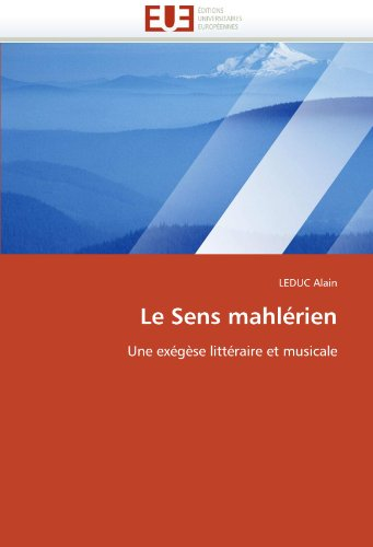 Le Sens Mahlerien 9786131540394