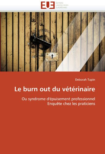 Le Burn Out Du V T Rinaire 9786131572623