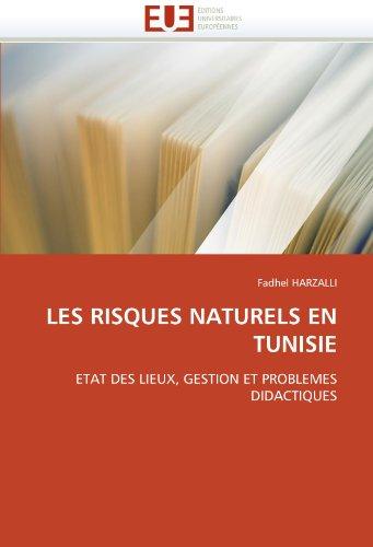 Les Risques Naturels En Tunisie 9786131534607