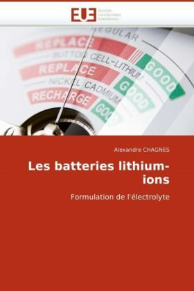 Les Batteries Lithium-Ions 9786131510359
