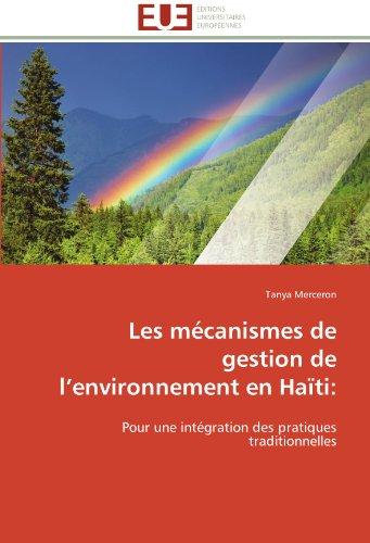 Les M Canismes de Gestion de L'Environnement En Ha Ti 9786131592379